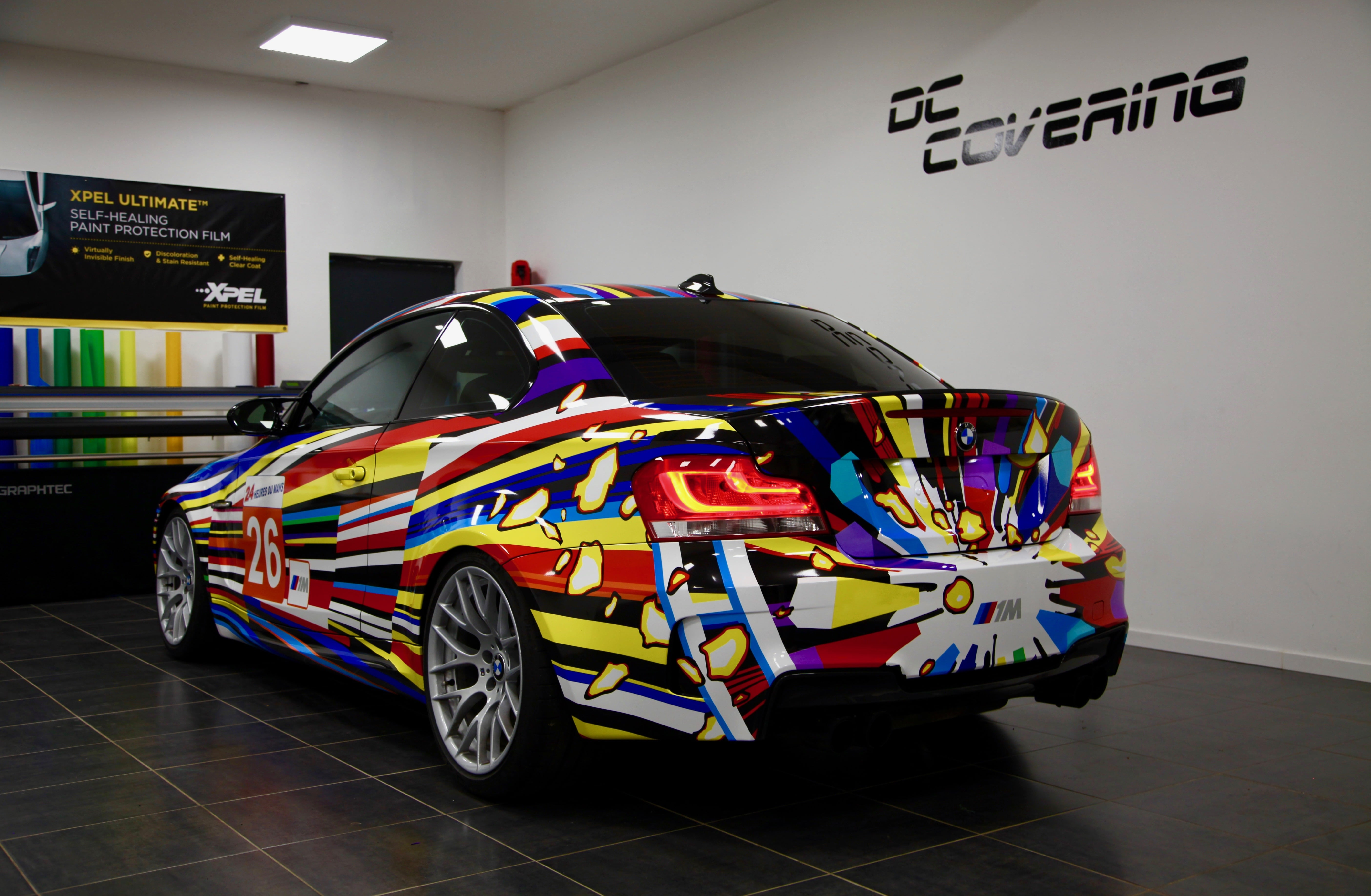 Image 29 of 50 2018 saratoga invitational auto show limited dc covering bmw 1m art car publicscrutiny Gallery