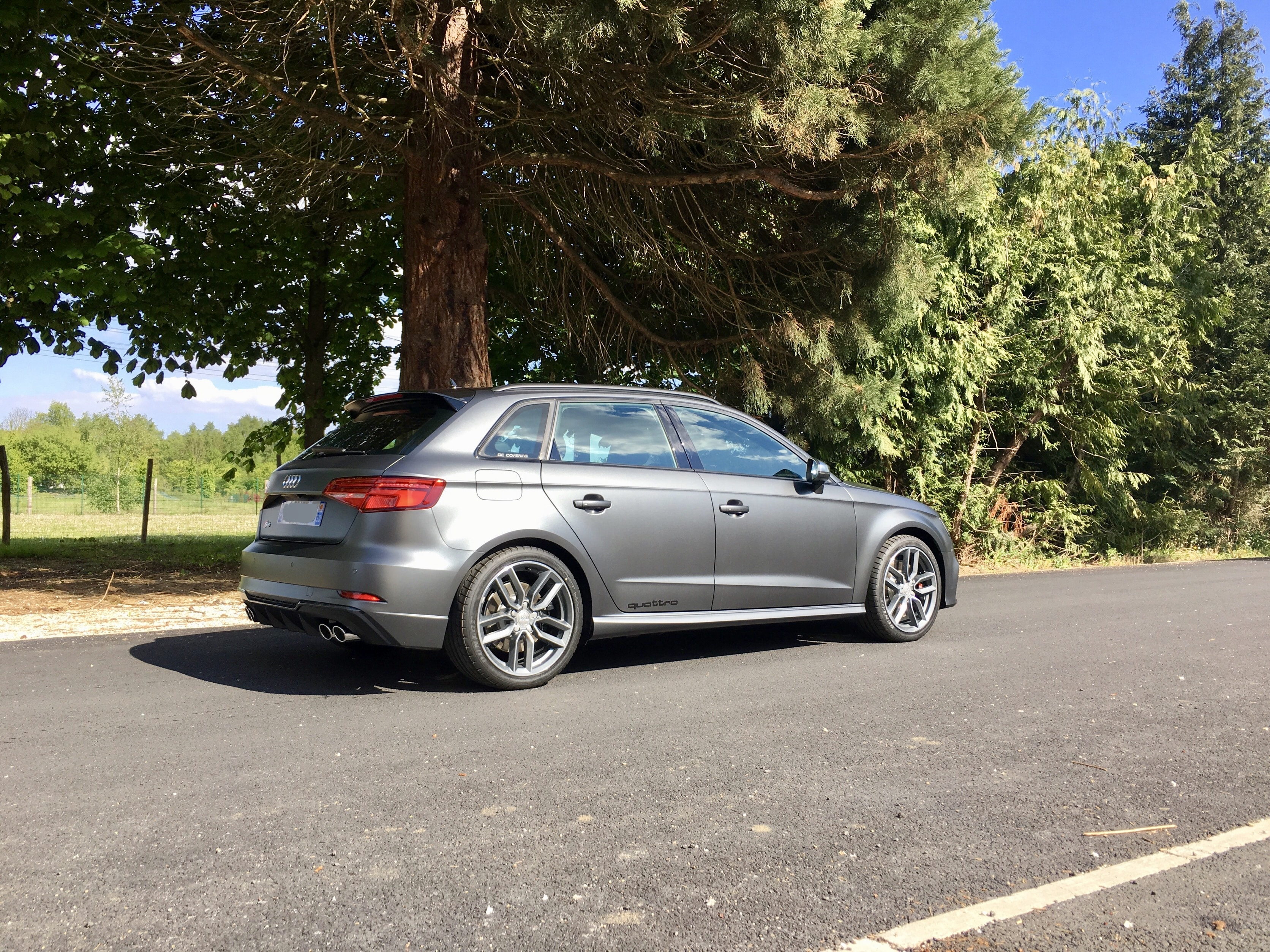 Dc Covering Audi S3